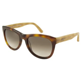 Ferragamo Women's SF685S Rectangular Sunglasses
