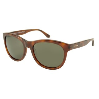 Ferragamo Women's SF709S Rectangular Sunglasses