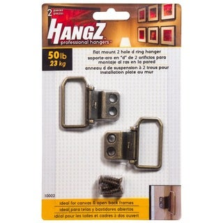 HANGZ Canvas 2 Hole D Ring Hanger 50-pound
