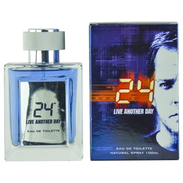 24 Live Another Day Men's 3.4-ounce Eau de Toilette Spray