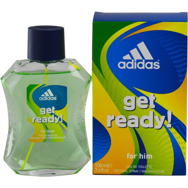 Adidas Get Ready Men's 3.4-ounce Eau de Toilette Spray