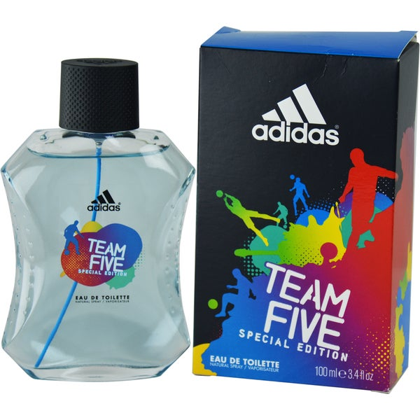 Adidas Team Five Men's 3.4-ounce Eau de Toilette Spray (Special Edition)