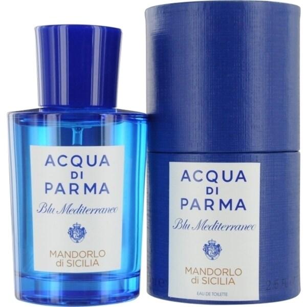 Acqua Di Parma Blue Mediterraneo Men's 2.5-ounce Mandorlo Di Sicilia Eau de Toilette Spray