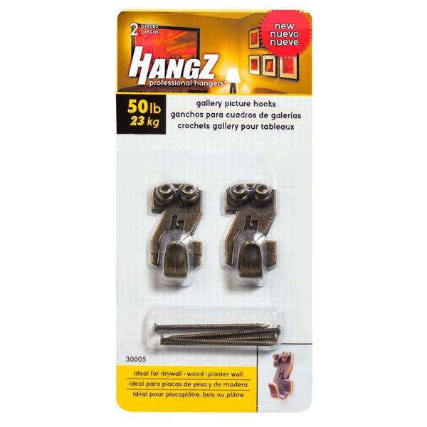 HANGZ Gallery Picture 50-pound Hooks