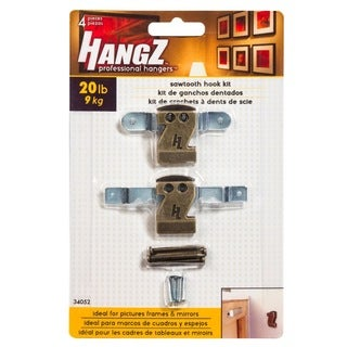 HANGZ Sawtooth Hook Kit 20-pound
