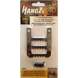 HANGZ Canvas Sawtooth Hanger 20-pound