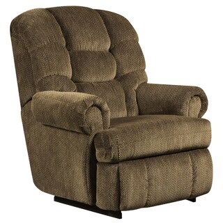 Big and Tall 350-pound Capacity Gazette Microfiber Recliner