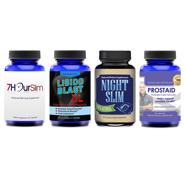 Men's Health Supplement Box