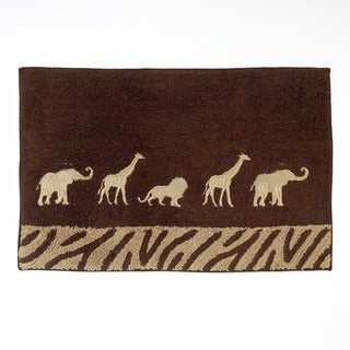 Animal Parade Bath Rug