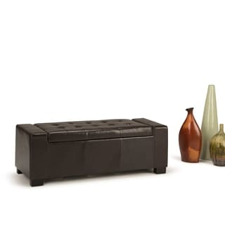 Wyndenhall Santa Fe Large Rectangular Storage Ottoman