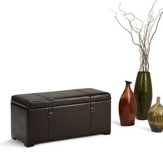 Wyndenhall Waterford 5 Piece Rectangular Storage Ottoman Bench