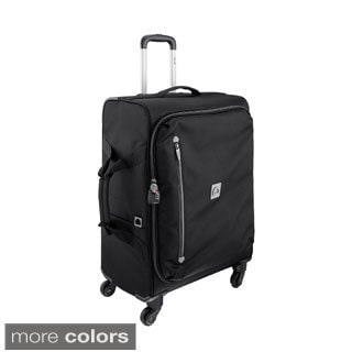 Delsey Solution 23-inch Foldable Spinner Upright Suitcase