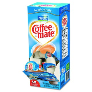 Coffee-mate French Vanilla Flavor Liquid Coffee Creamer (Pack of 200)