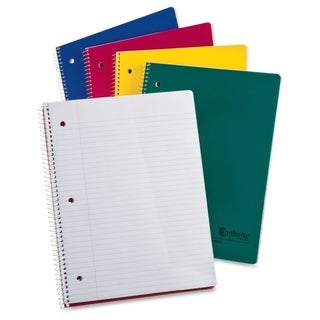 Ampad Earthwise Recycled College Rule Notebook - Assorted Color