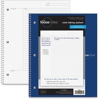 TOPS FocusNotes 1-Subject Wirebound Notebook