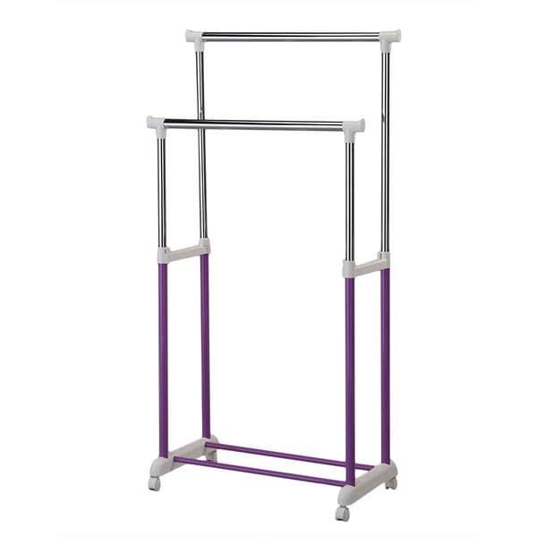 Lera Purple Garment Rack