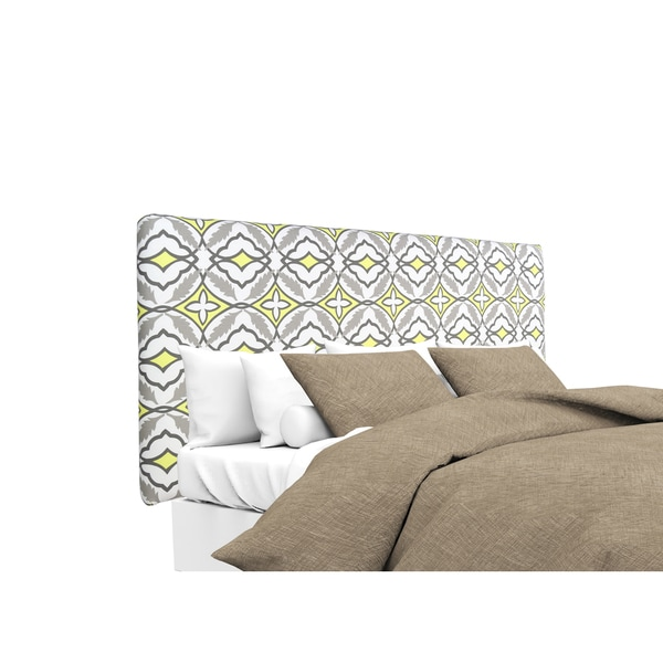MJL Furniture Alice Eden Lemon Designer Upholstered Headboard