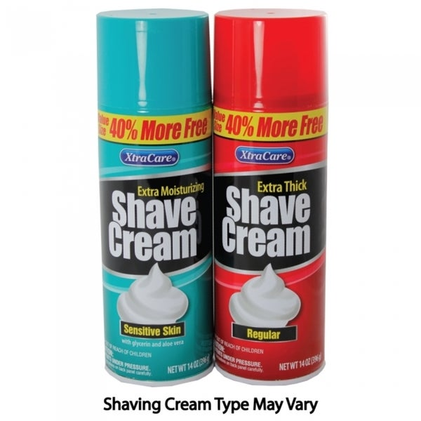 Shaving Cream Can Safe