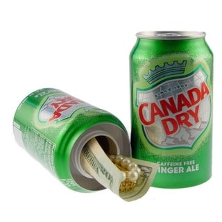 Ginger Ale Can Safe