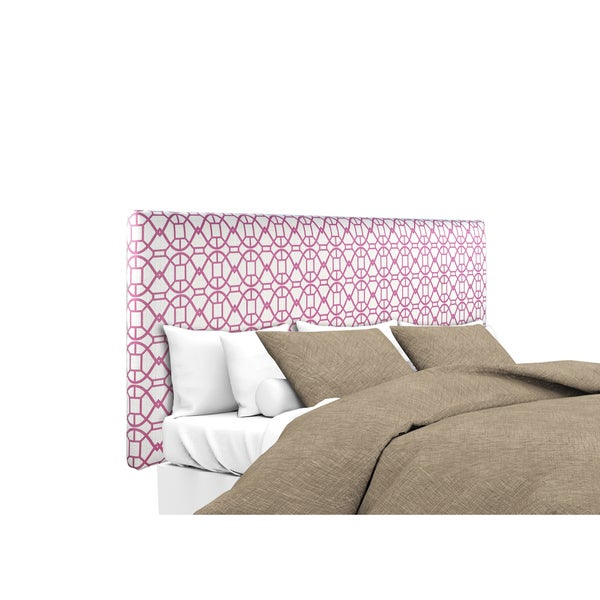 MJL Furniture Alice Noah Blush Upholstered Headboard