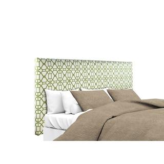MJL Furniture Alice Noah Summer Green Upholstered Headboard