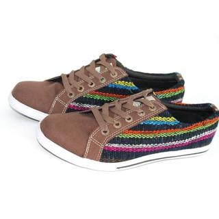 ANDIZ Handmade Brown Low-cut Oxford Shoes (Ecuador)
