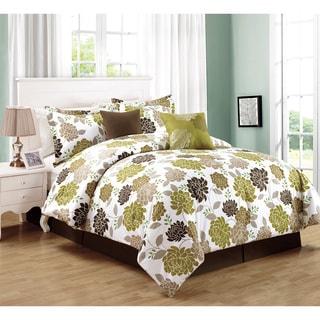 Gigi Taupe 6-piece Comforter Set