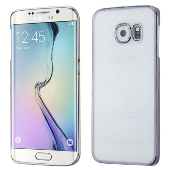 Insten Clear TPU Rubber Candy Skin Phone Case Cover For Samsung Galaxy S6 Edge