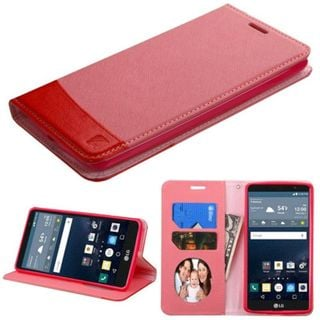 Insten Slim Leather Wallet Flap Pouch Phone Case Cover with Stand/ Photo Display For LG G Stylo