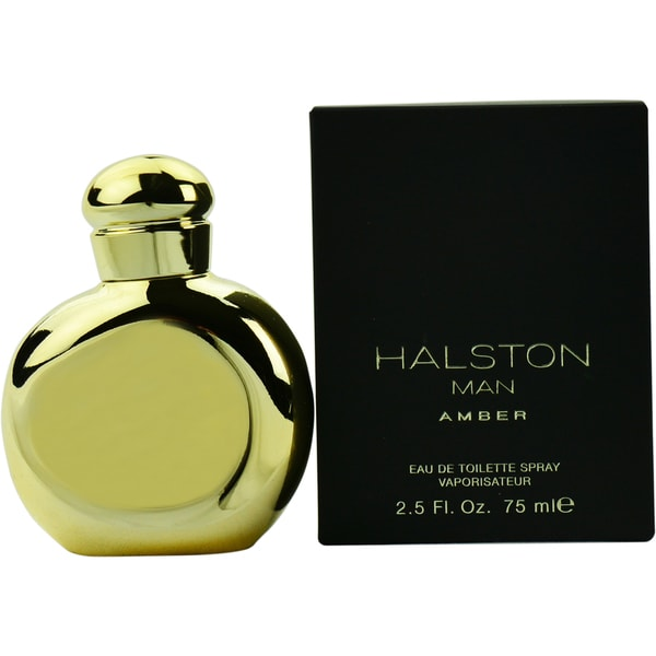 Halston Man Amber Men's 2.5-ounce Eau de Toilette Spray