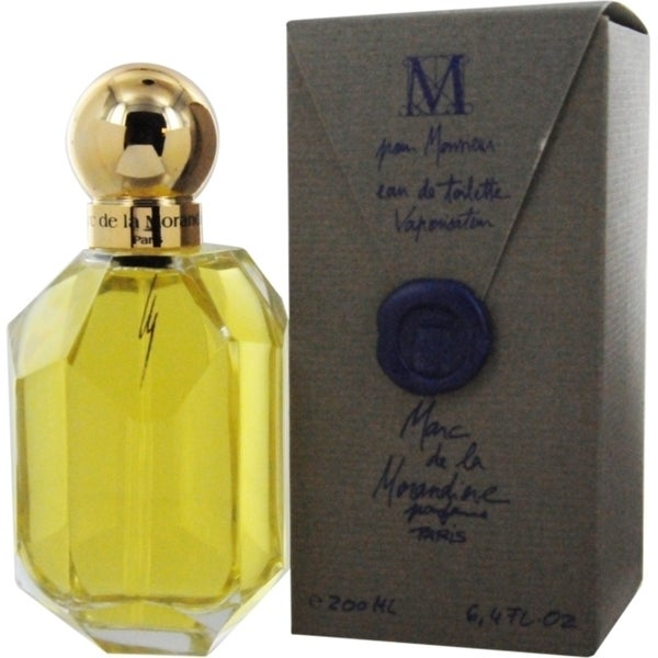 Marc de La Morandiere Men's 6.7-ounce Eau de Toilette Spray