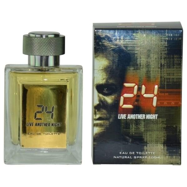 Scent Story 24 Live Another Night Men's 3.4-ounce Eau de Toilette Spray