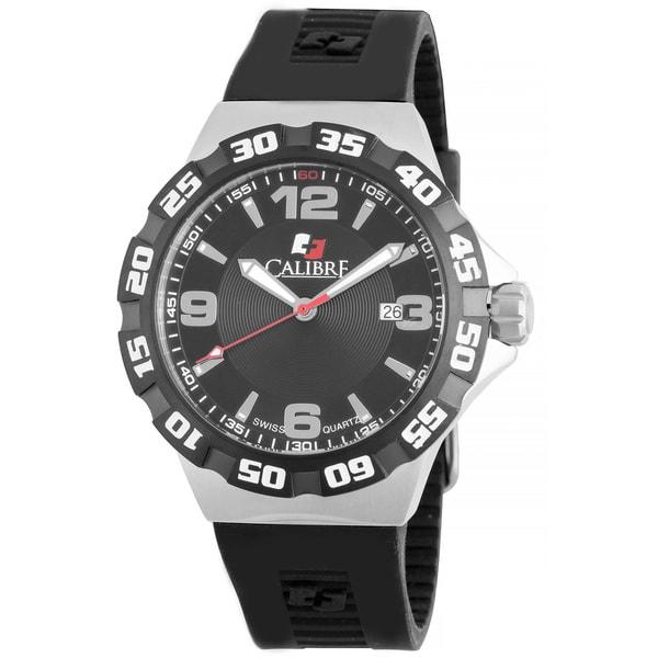 Calibre Lancer Mens Black Dial Watch