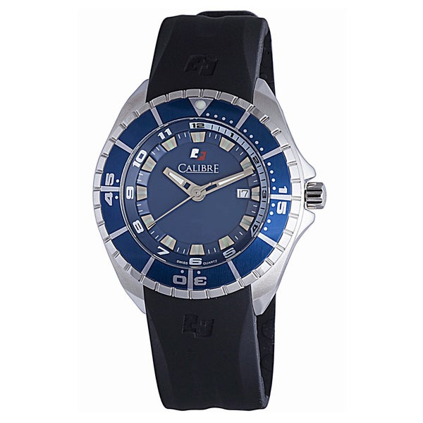 Calibre Sea Knight Mens Blue Dial Watch