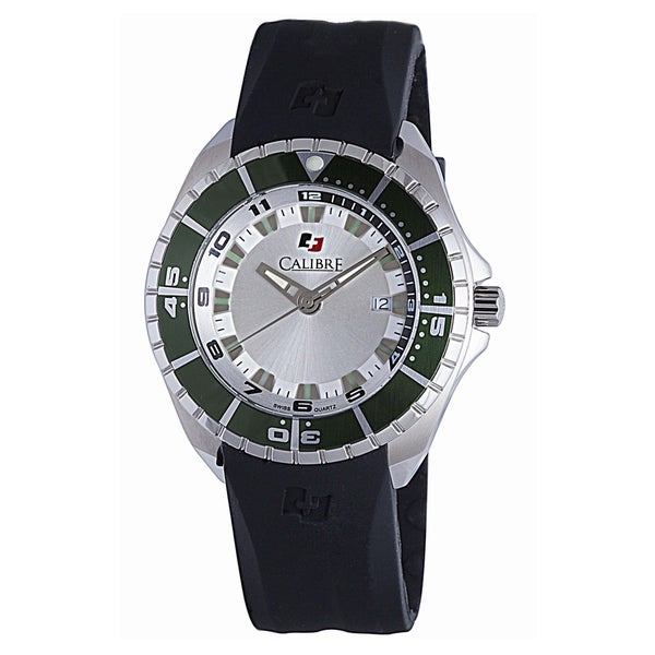 Calibre Sea Knight Mens Silver Dial Watch