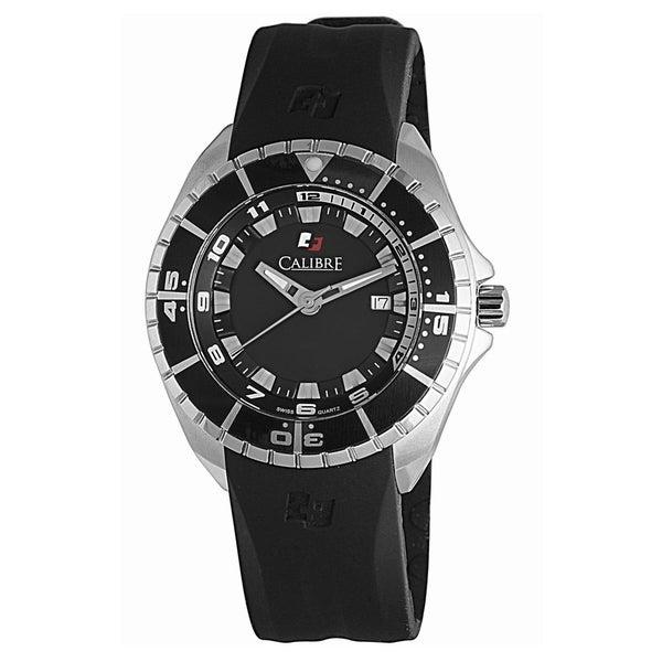 Calibre Sea Knight Mens Black Dial Watch