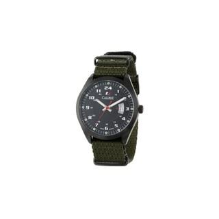 Calibre Trooper Mens Black Dial Watch