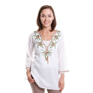 Hadari Women's Embroidered Tunic