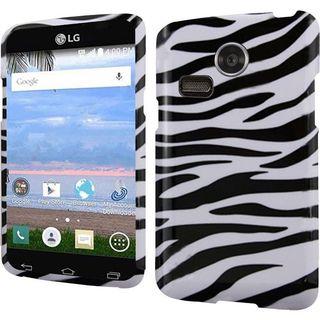 Insten Slim Hard Snap-on Rubberized Matte Phone Case Cover For LG Lucky/ Sunrise