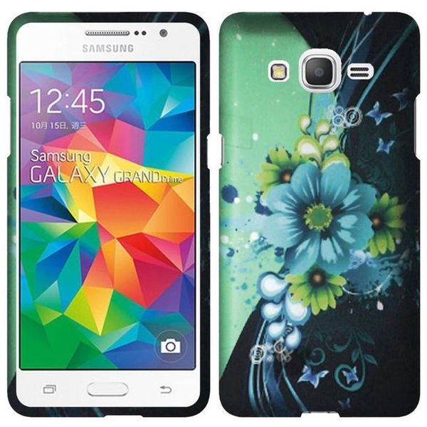 Insten Slim Hard Snap-on Rubberized Matte Phone Case Cover For Samsung Galaxy Grand Prime