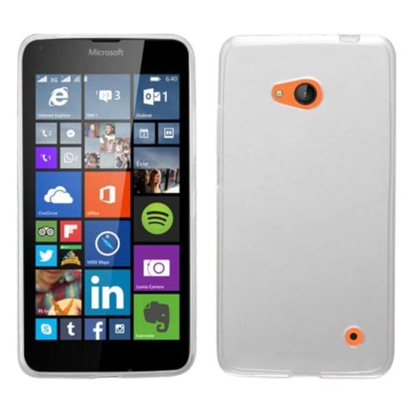 Insten White Hard Snap-on Rubberized Matte Phone Case Cover For Microsoft Lumia 640 Metro PCS/ 640 T-mobile