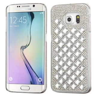 Insten Slim Hard Snap-on Rhinestone Bling Phone Case Cover For Samsung Galaxy S6 Edge