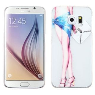 Insten Slim Hard Snap-on Rubberized Matte Phone Case Cover For Samsung Galaxy S6