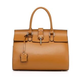 Preston Leather Top Handle Handbag