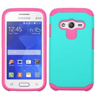Insten Hard PC/ Soft Silicone Dual Layer Hybrid Rubberized Matte Phone Case Cover For Samsung Galaxy Ace 4