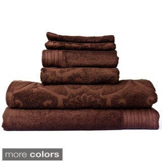 100-percent Egyptian Cotton Spa 6-piece Towel Set