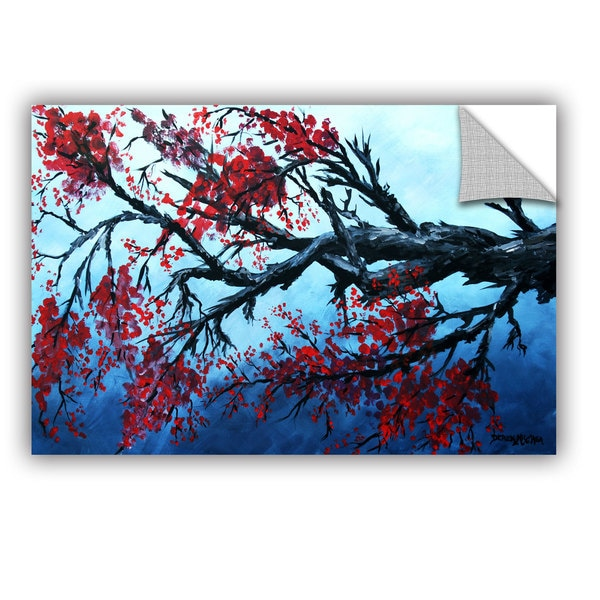 ArtAppealz Derek Mccrea 'Japanese Cherry Blossom' Removable Wall Art 15844339