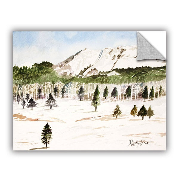 ArtAppealz Derek Mccrea 'Pikes Peak' Removable Wall Art