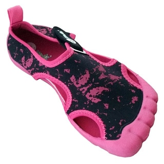 Girls' Navy Seal Splash Pink / Black Water Shoes
