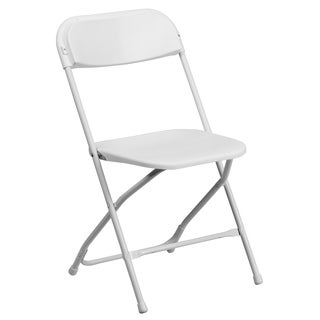 Ontario White Durable Folding Chairs